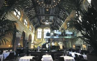 working lunch at galvin la chapelle, spitalfields