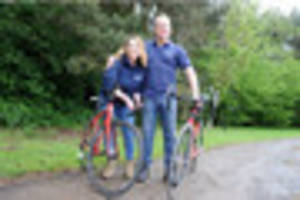 hornsea couple take on 240 mile charity bike ride to paris after...