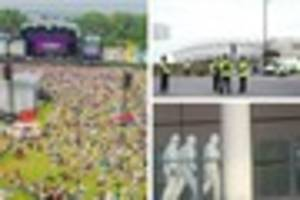 Radio 1 Big Weekend: Police say 'no imminent threat' in Hull...