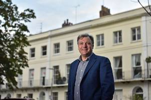 Ed Balls says we should not be deterred by terrorists before show at Cheltenham's Everyman Theatre