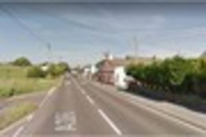 Tavistock Road closed in both directions after crash