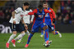 crystal palace ace tops premier league chart for take-ons this...