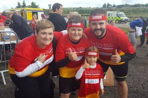 family urge west lothian people to raise funds for edinburgh children's hospital charity after revealing how it helped their daughter