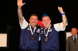 scotland take top seeding as gary anderson and peter wright target world cup of darts title