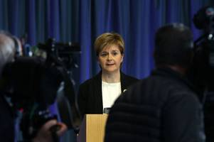 'those who seek to target our children and destroy our way of life will not succeed': nicola sturgeon promises increased police presence