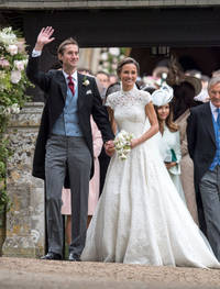 pippa middleton and james matthews' wedding brings forth best of guests: many faces steal show
