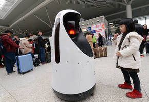 Dubai Takes Technological Leap Of Faith, Introduces Its First Robot Officer To Police Force