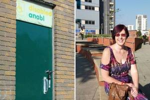 this crohn's disease sufferer is angry at the number of 'locked toilets' across the rhondda
