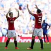 Ander Herrera says Ibrahimovic can help Manchester United to Europa League win