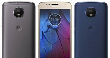 Moto G5S Leaked Press Renders Reveal Color Options and Full Metal Body