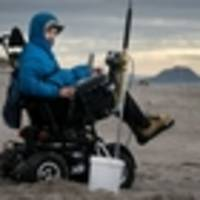 Drone helping tetraplegic 20-year-old keep beloved fishing hobby alive