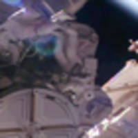 Astronauts conduct spacewalk to repair International Space Station