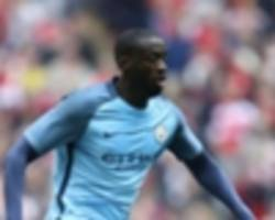 'it's too much to bear' - toure and agent to donate £100k to manchester attack victims