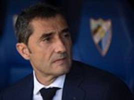 Ernesto Valverde is the perfect fit for Barcelona job