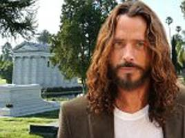 chris cornell cremated at hollywood forever cemetery