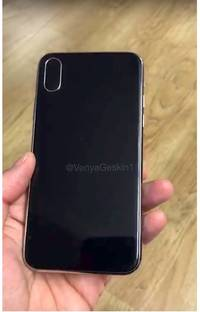 a leaker posted the first hands-on video with a dummy iphone 8 (aapl)
