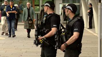 Armed police deployed across Scotland