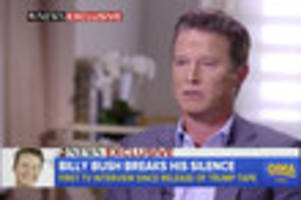billy bush: 'i sacrificed... my own dignity' during infamous trump interview