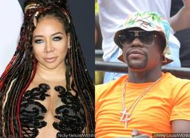 tiny leans on floyd mayweather for support following bitter split from t.i.