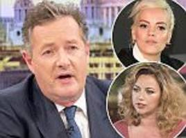 piers morgan slams lily allen and charlotte church