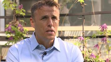 Manchester Arena attack: Phil Neville says Europa League final is 'irrelevant'