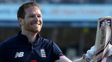 England v South Africa: Eoin Morgan century sets up win