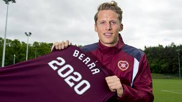 christophe berra: defender to captain hearts after returning to club