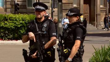 Manchester attack: Armed police deployed across Scotland