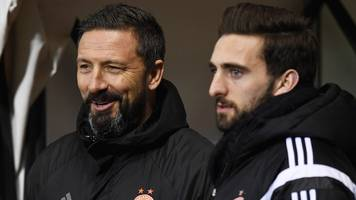 scottish cup final: shinnie 'apt' choice for aberdeen captain, says mcinnes