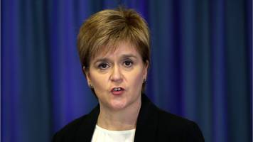 sturgeon: 'be vigilant but not alarmed'