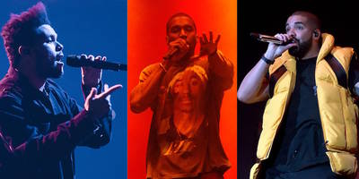 """The Weeknd Enlists Kanye, Drake, Nas, Ghostface, More for """"Tell Your Friends"""" Remix: Listen"""