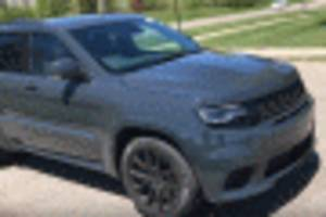 YouTuber gets early test drive of Jeep Grand Cherokee Trackhawk