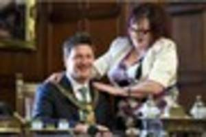 It seems Derby's new mayor, Councillor John Whitby, used to be a...