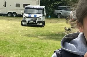 family claim police are 'too scared' to investigate theft of their van