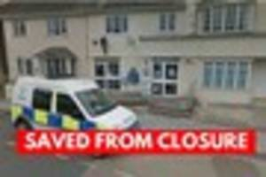 seaton police station saved from closure
