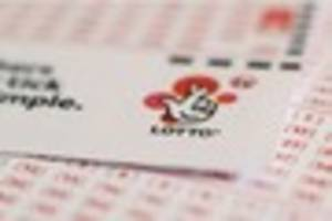 National Lottery players are six times more likely to win huge...