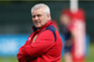 no easy games on nz tour for british  lions, says warren gatland