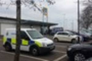 Two arrested following robbery outside Aldi in Meir Park