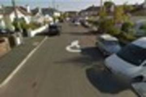 Car window 'smashed with a rock' in South Devon town