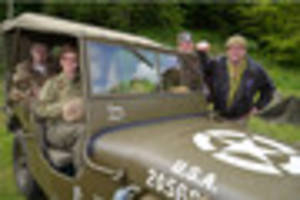 reliving world war ii with winston churchill and us troops at...
