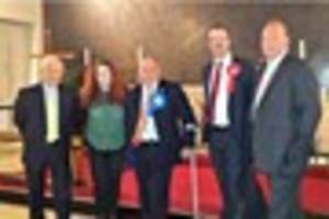 video shows harlow general election candidates clashing at...