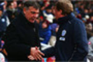 former tottenham, west ham and qpr boss reacts to sam allardyce's...