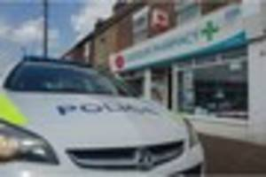 WATCH Robbery at Hatton post office as police cordon off site
