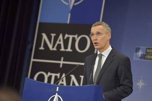 NATO rolls out the red carpet, buffs its image for Trump