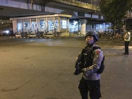 Police: Two Blasts At Bus Terminal In Indonesian Capital, Casualties Reported