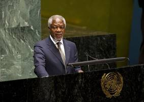 Trump should engage in talks with Iran: Kofi Annan