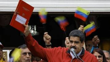 venezuela's maduro presses on with constituent assembly