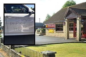 Balloch restaurant boss defends actions after writing on car