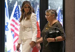 Nechama Rivlin's moving gift to Melania Trump and the First Son