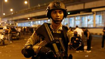Police officers die in Jakarta suicide bombing